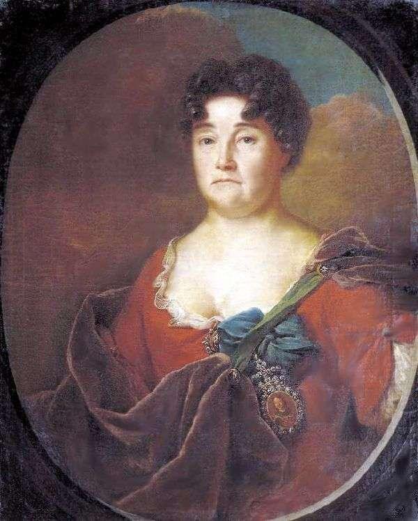 A. P. Golitsyna   Andrey Matveyevの肖像