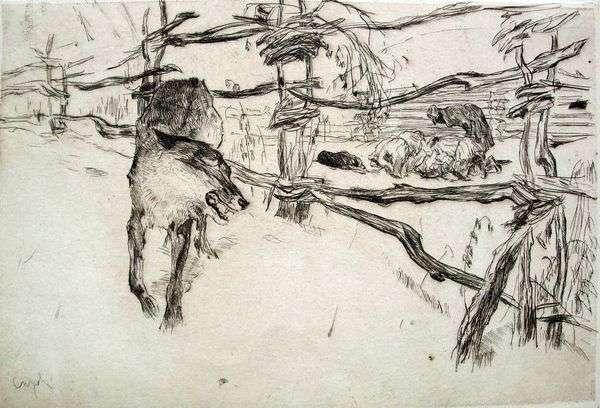 オオカミと羊飼い   バレンティンセロフ