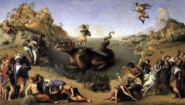 ペルセウス解放アンドロメダ   ピエロ・ディ・コジモ