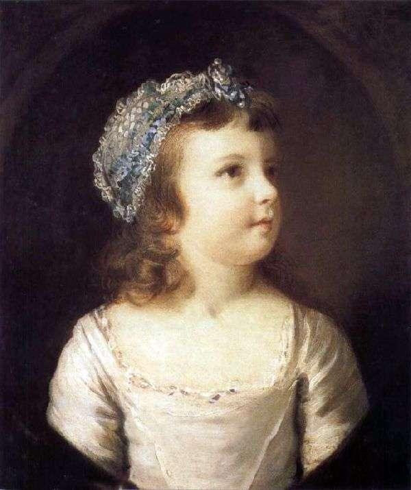 少女の肖像   ジョシュア・レイノルズ