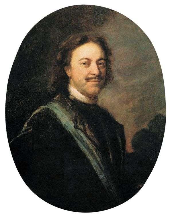 ピーター大王の肖像   Andrei Matveev