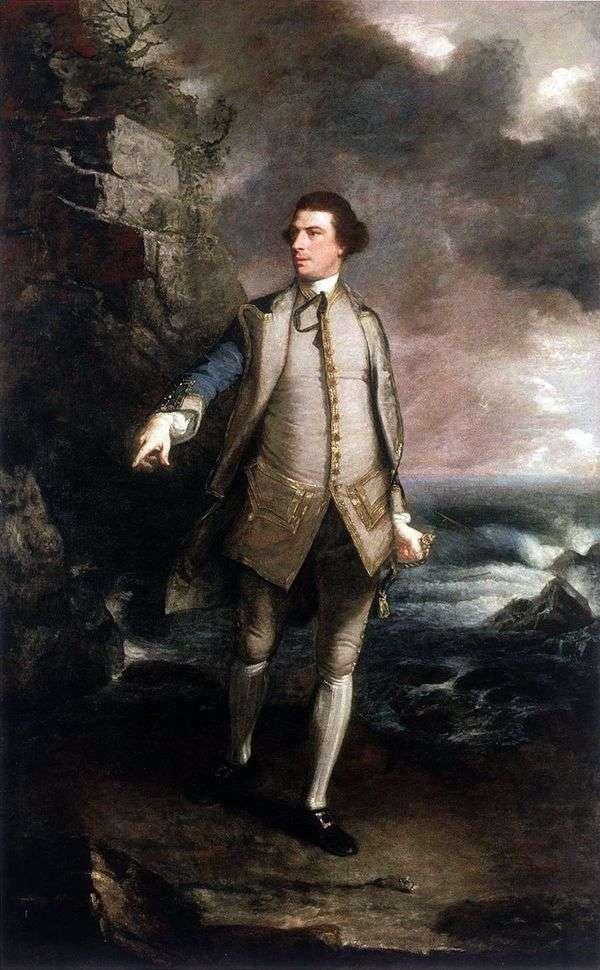 コモドールケッペラ   ジョシュアレイノルズの肖像