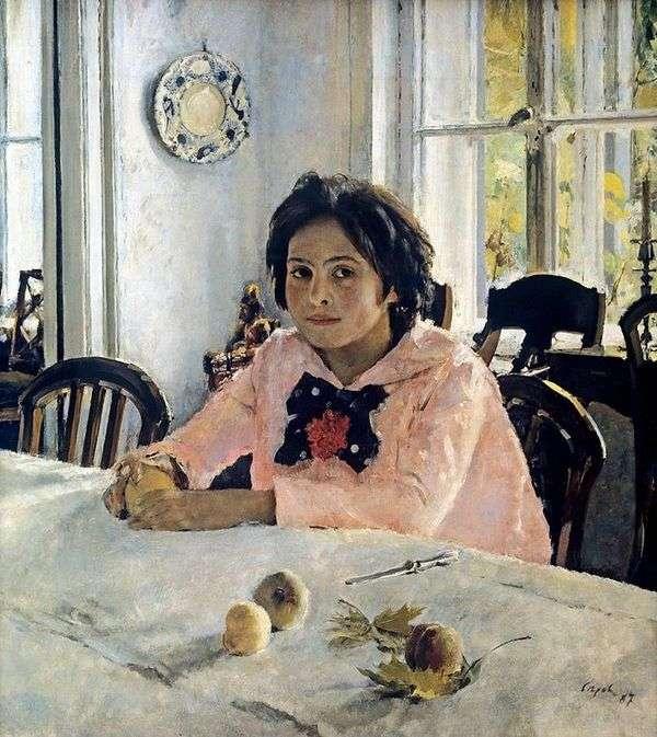 桃の女の子   バレンティンセロフ
