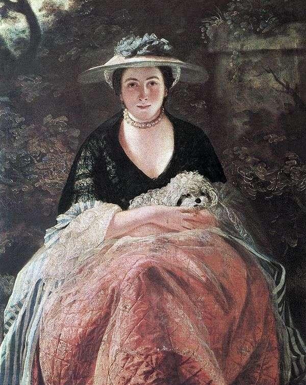 ネリーオブライエンの肖像   ジョシュアレイノルズ