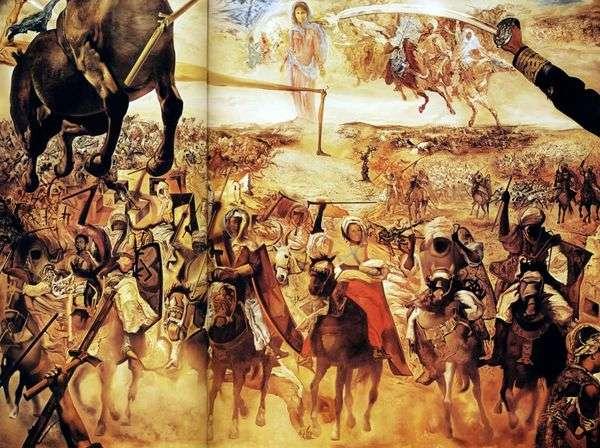テトゥアンの戦い   サルバドールダリ