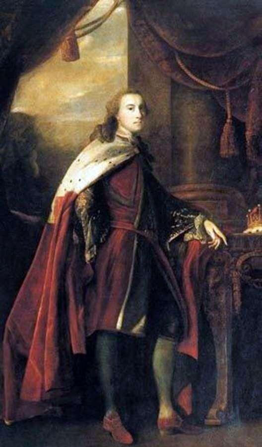ウィリアム湖、ダートムーアの第二伯爵の肖像   ジョシュア・レイノルズ