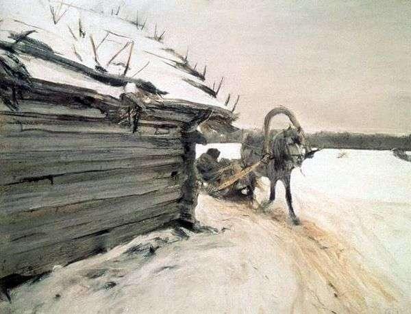 冬   バレンティンセロフ