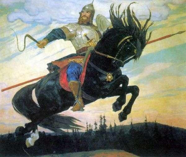 Bogatyrsky Skok   Viktor Vasnetsov