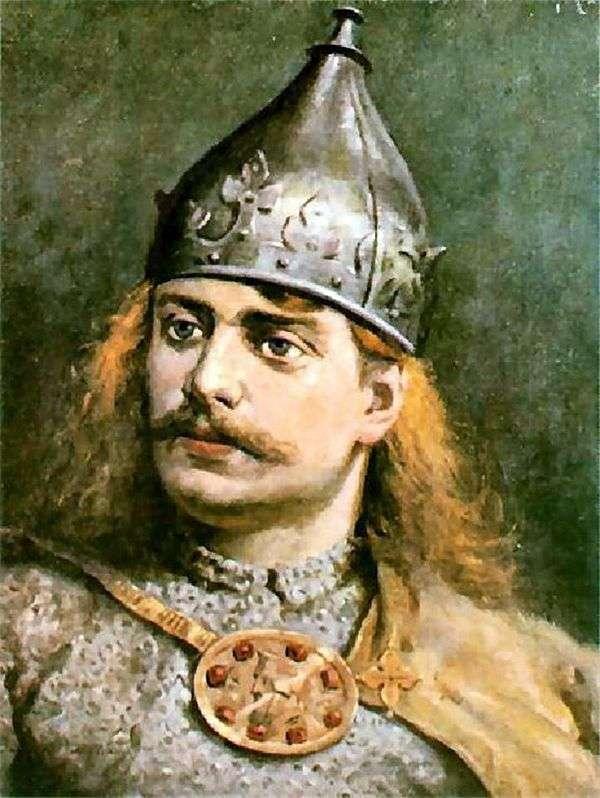 Boleslav III Krivoust   Jan Aloisy Mateykoの肖像