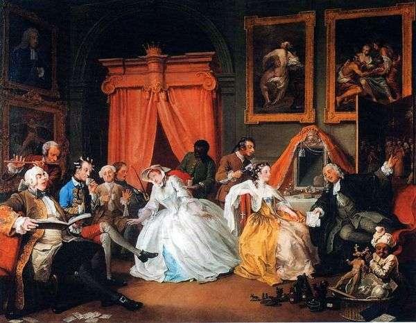 伯爵の私室   ウィリアム・ホガース