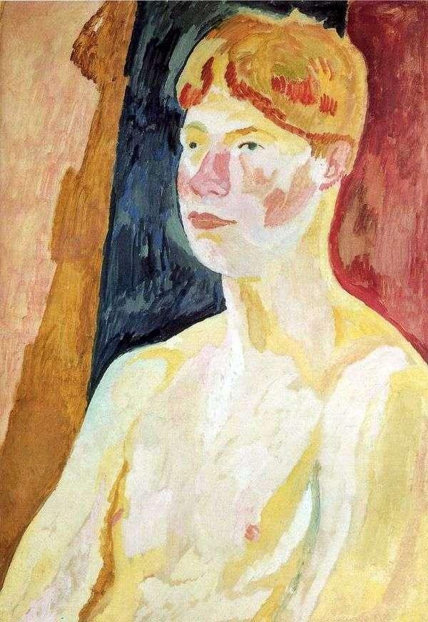 David Garnett   Vanessa Bellの肖像