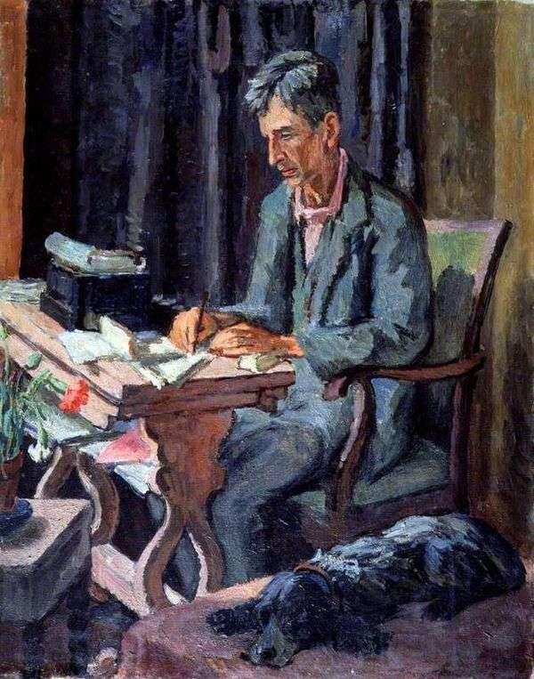 レオナルド・ウルフ   ヴァネッサ・ベルの肖像
