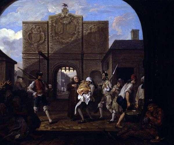 カレーの門、あるいはオールドイングランドのローストビーフ   William Hogarth
