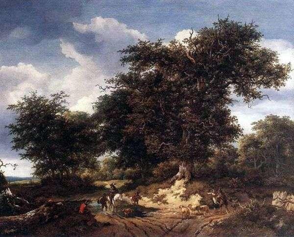 ビッグオーク   Jacob van Ruysdael