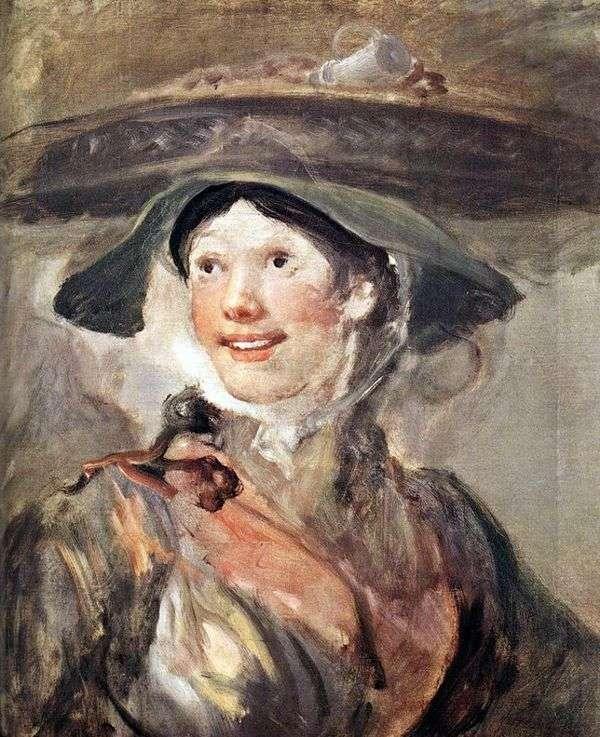 エビの女の子   William Hogarth