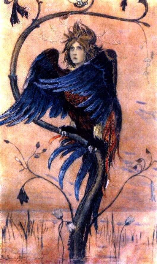ガマユン、戦争の鳥   Victor Vasnetsov
