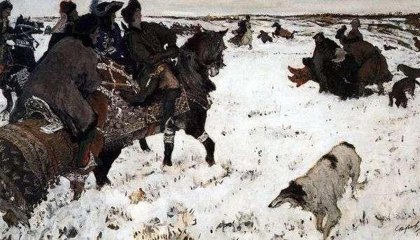 Peter I   狩猟狩り   バレンティンセロフ