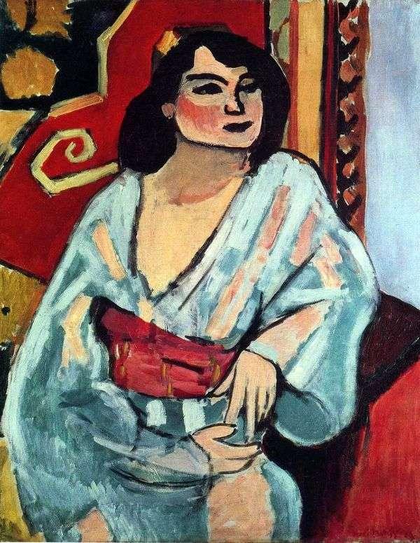 アルジェリア人女性   アンリ・マティス