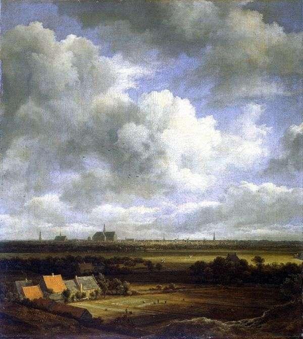 フィールド   ハコレムの眺め   Jacob van Ruisdal