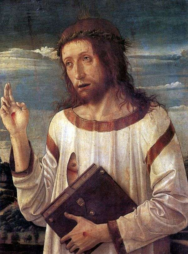 キリストの祝福   Giovanni Bellini
