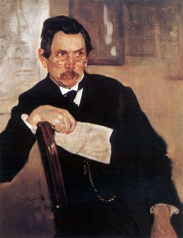 A. V. Kasyanov   バレンティンセロフの肖像