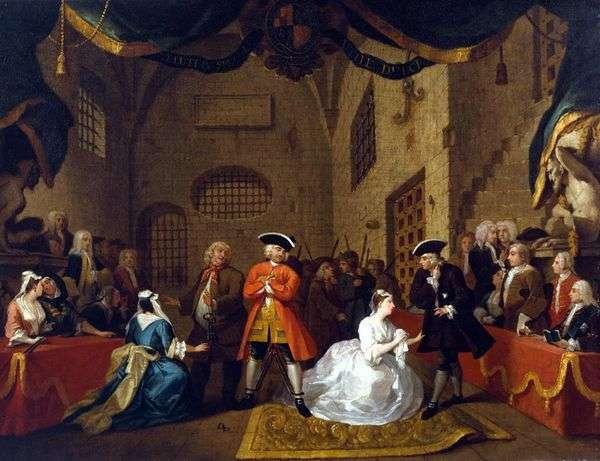 乞食オペラ   William Hogarth