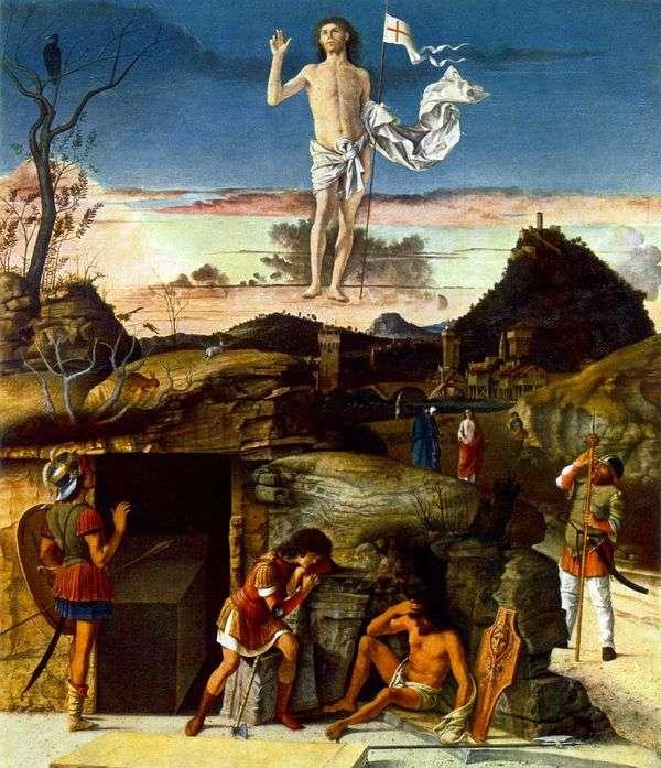 キリストの復活   Giovanni Bellini