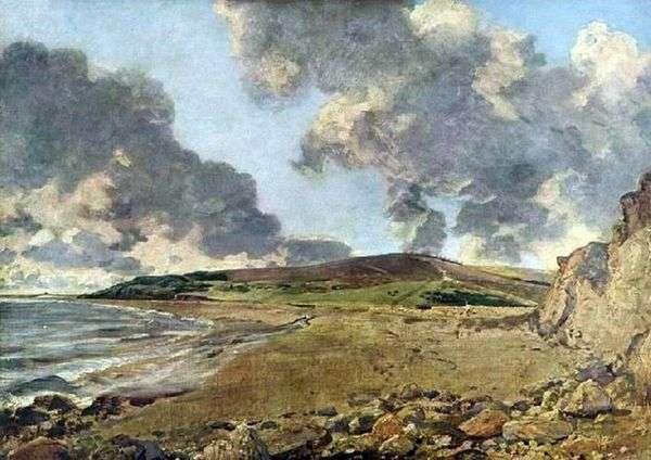 ヨルダン山とウェイマスベイ   John Constable