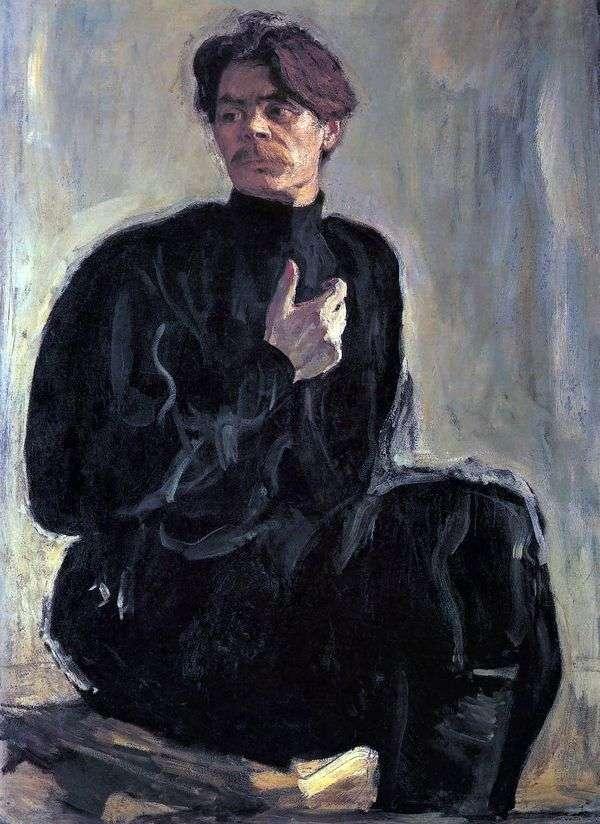 A. M. Gorky   バレンティンセロフの肖像画
