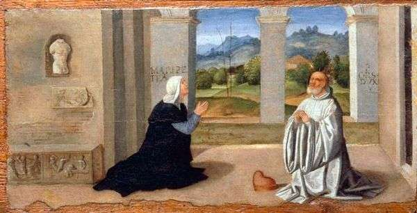 ドージェオルセオロとFelicita Malipiero   Giovanni Bellini