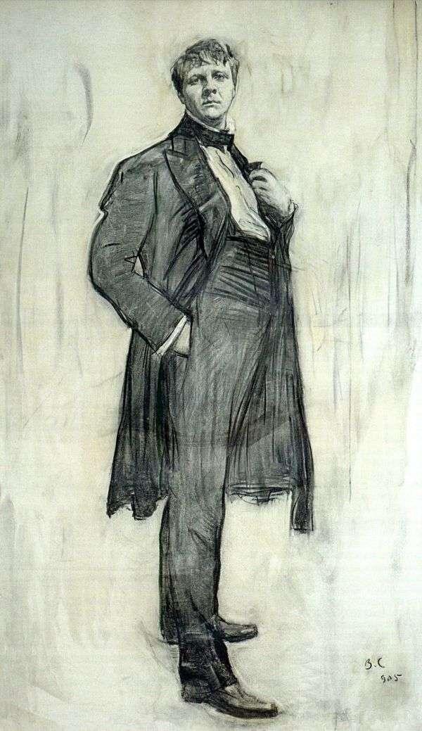 アーティストF. I. Chaliapin   Valentin Serovの肖像