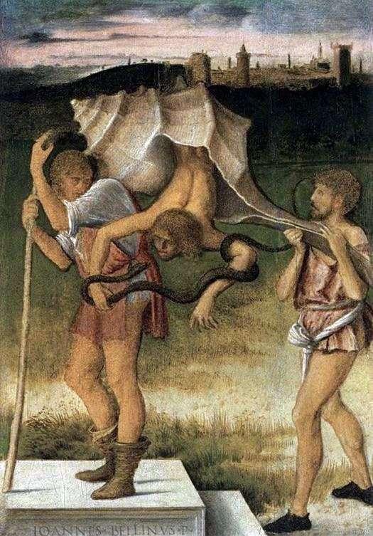 虚偽または知恵   Giovanni Bellini