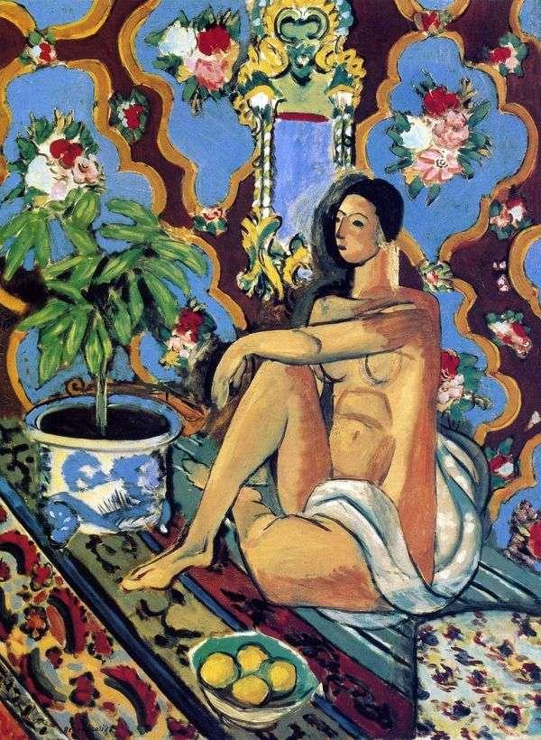 装飾用の背景   アンリ・マティスの装飾的な図