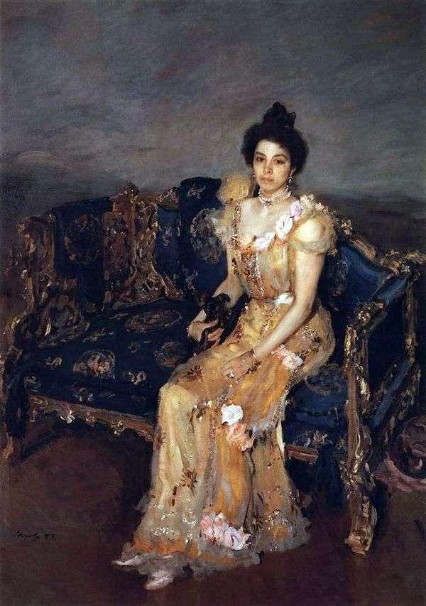 Portrait Botkin S. M.   バレンティンセロフ