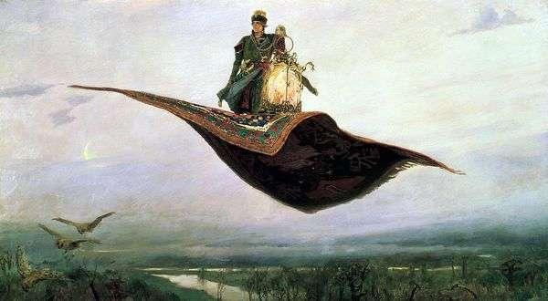 カーペット航空機   Victor Vasnetsov