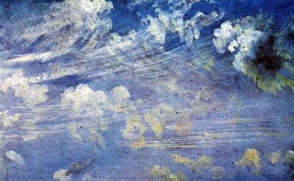 巻雲の雲   ジョン・コンスタブル