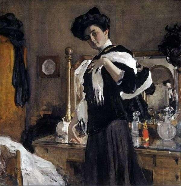 肖像G. L. ヒルシュマン   バレンティンセロフ