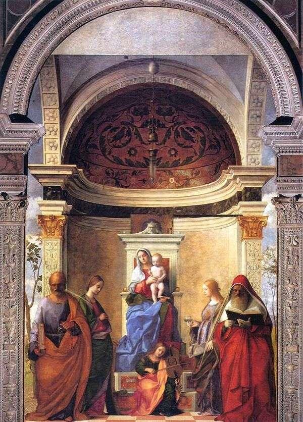 聖人とマドンナと子   ジョバンニベリーニ