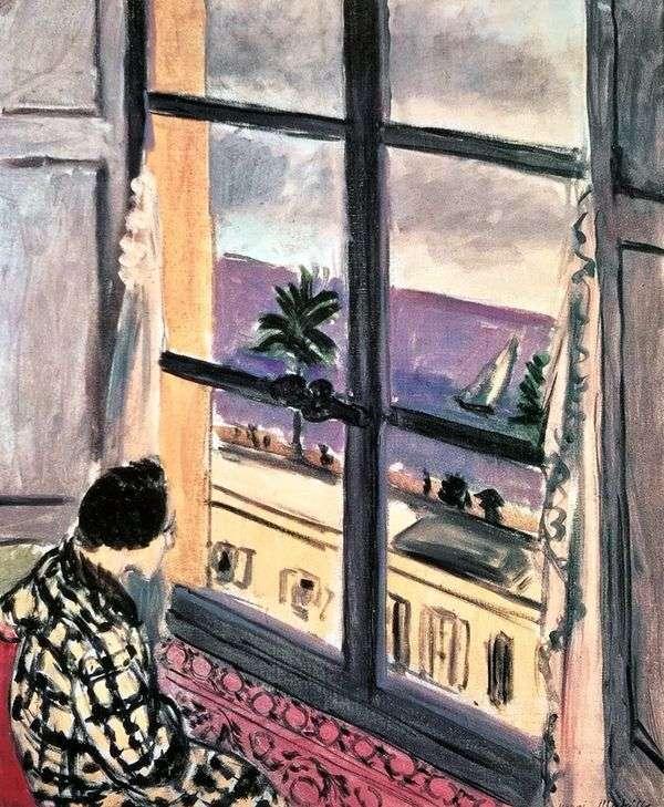 窓辺の女   アンリ・マティス
