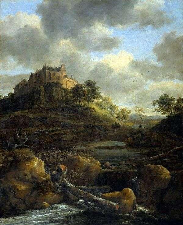 ベントハイム城   Jacob van Ruisdal