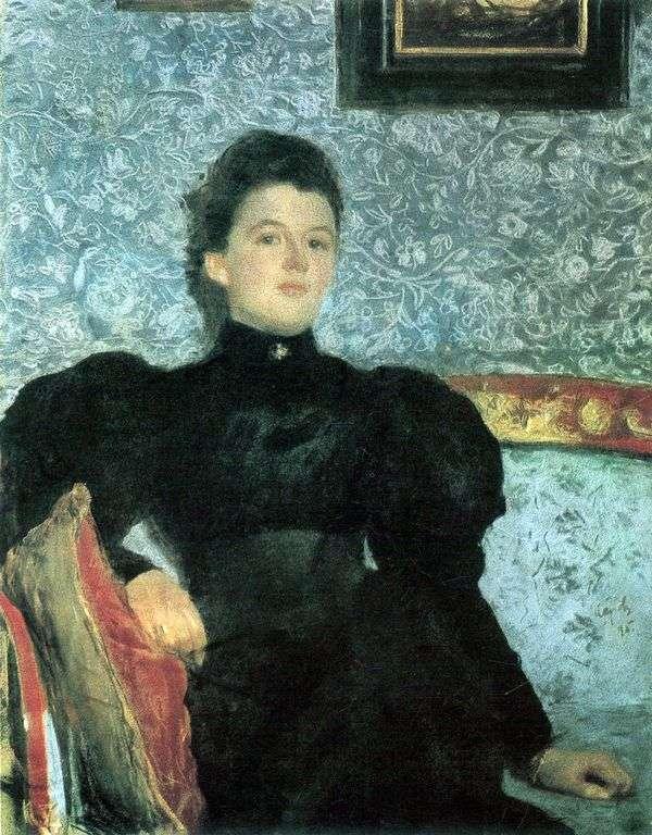 伯爵夫人の肖像V. V. Musina Pushkina   バレンティンセロフ