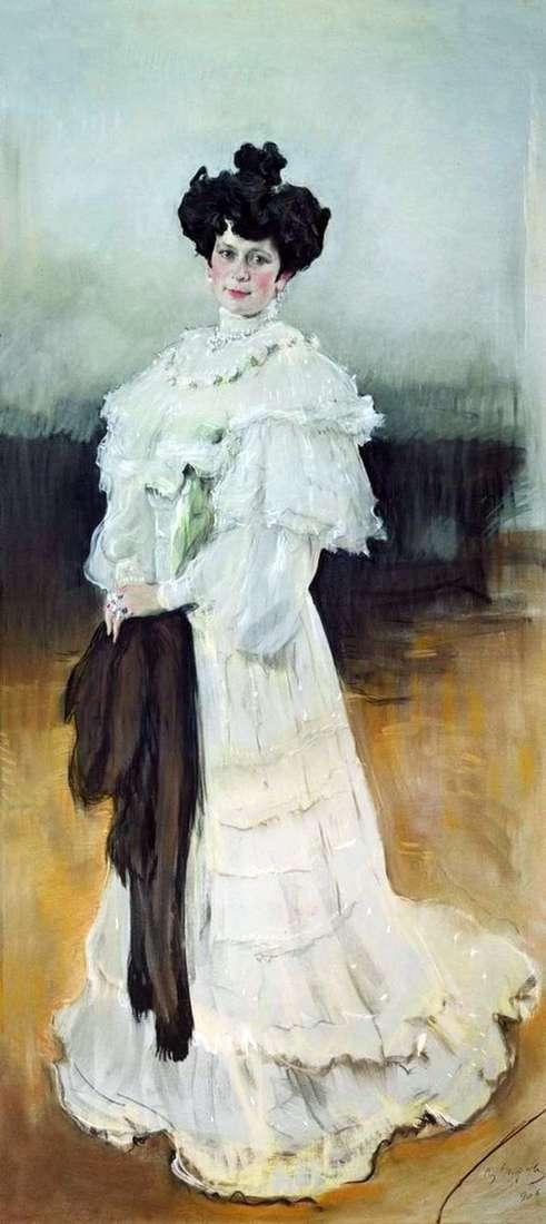 E. A. Krasilshchikova   バレンティンセロフの肖像画