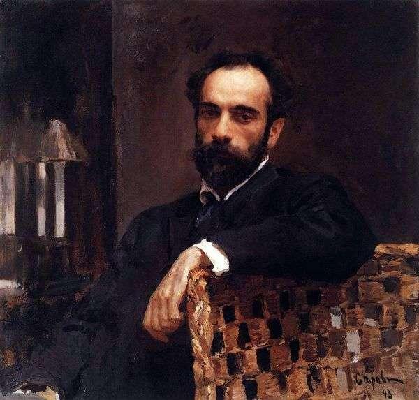 I. I. Levitan   Valentin Serovの肖像画