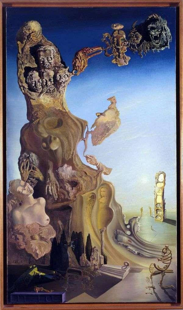 皇帝女児記念碑   Salvador Dali