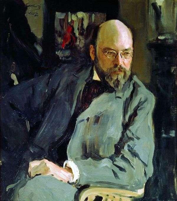 I. S. Ostroukhova   バレンティンセロフの肖像画