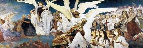 主の義人の喜び   Victor Vasnetsov