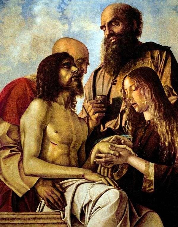 キリストの嘆き   Giovanni Bellini