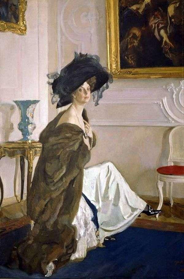 O. K. Orlova   バレンティンセロフ王女の肖像
