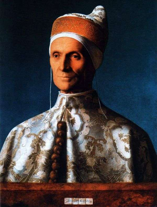 Doge Leonardo Loredana   Giovanni Belliniの肖像画