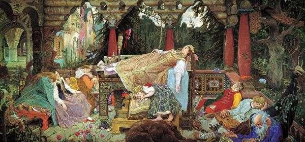 眠っている王女の物語   Victor Vasnetsov
